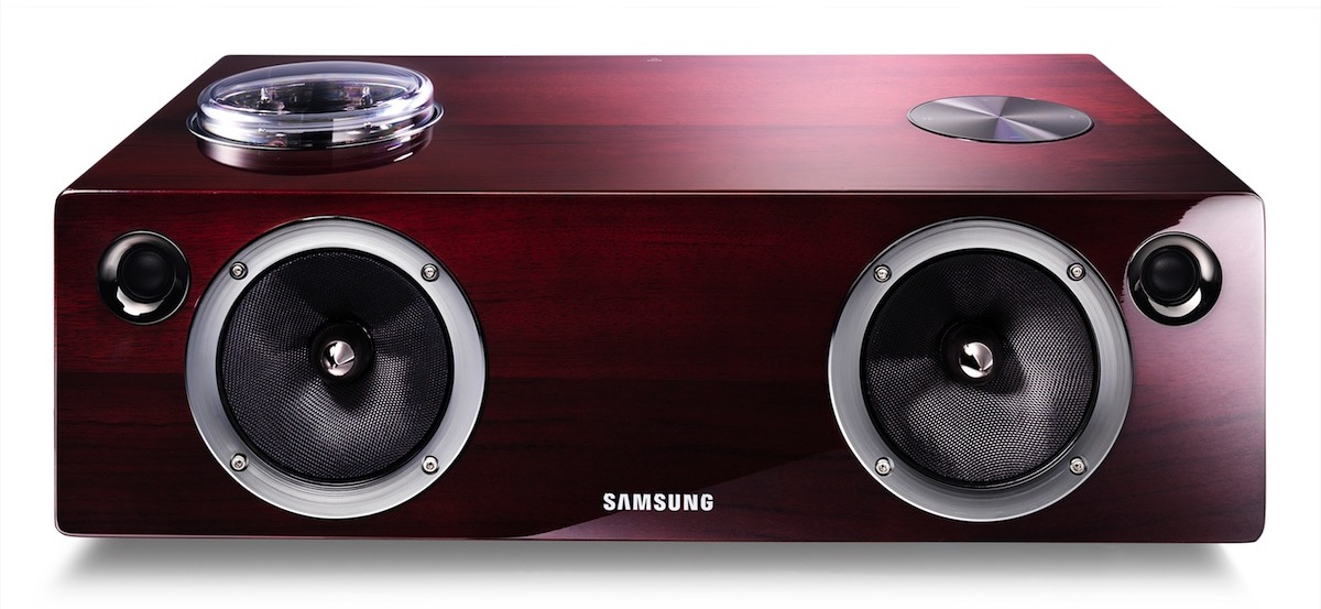 Samsung DA-E750 Audio Dock Front