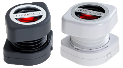 RAIKKO SCREW Vacuum Speaker black and white