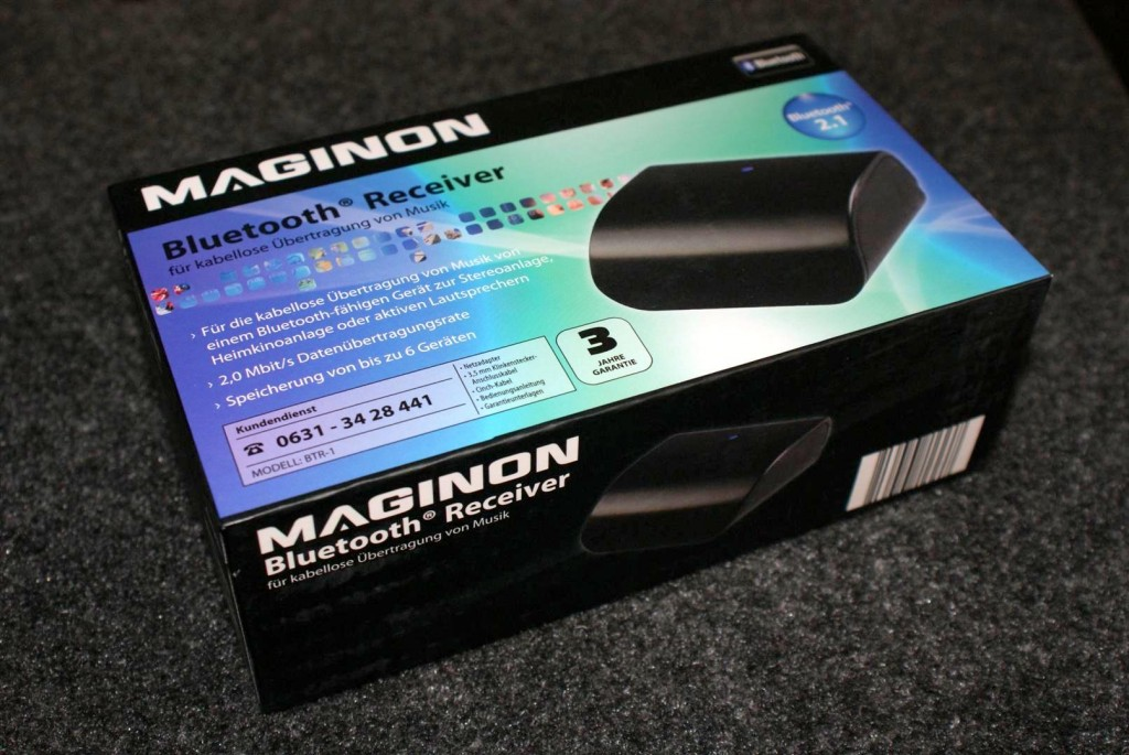 MAGINON BTR-1 Bluetooth Receiver